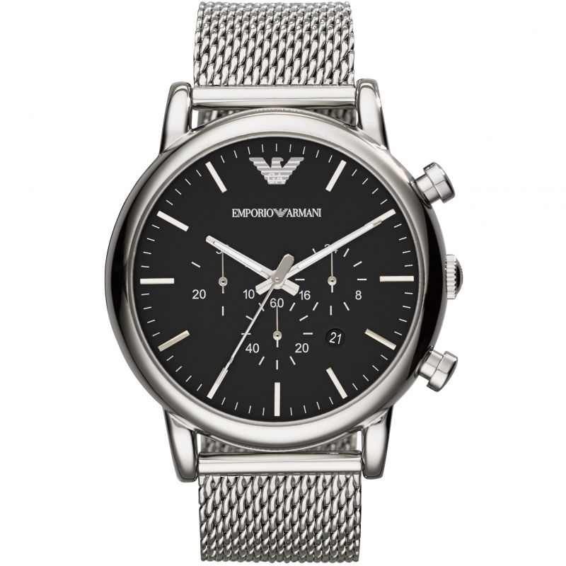 Men's Emporio Armani Chronograph Watch AR1808