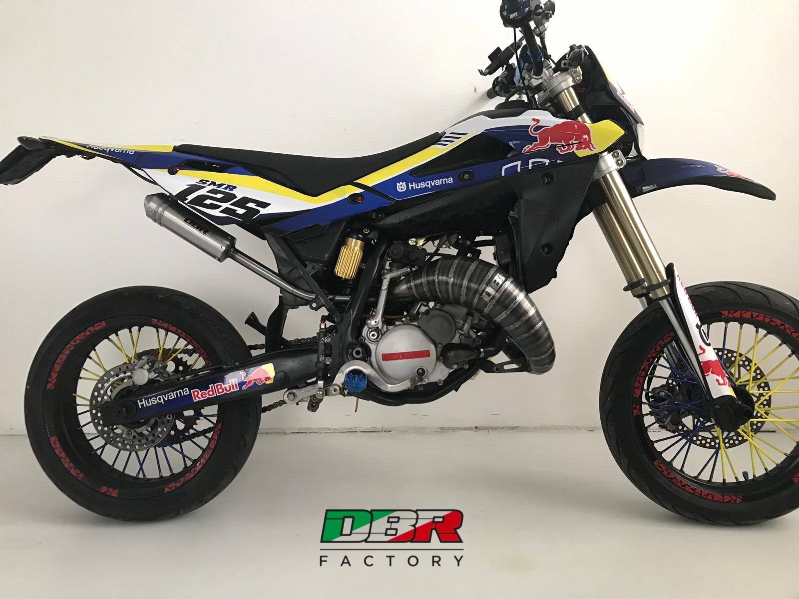 marmitta per cross 125cc