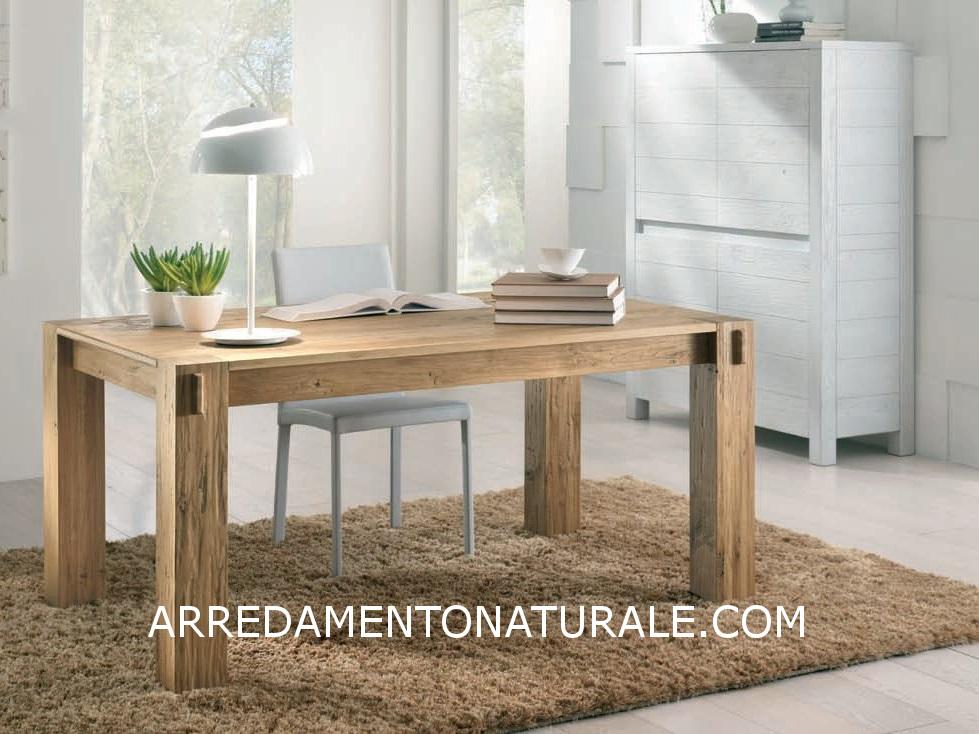 Credenza Moderna Legno Massello : Credenze e tavoli in vero legno massello su misura