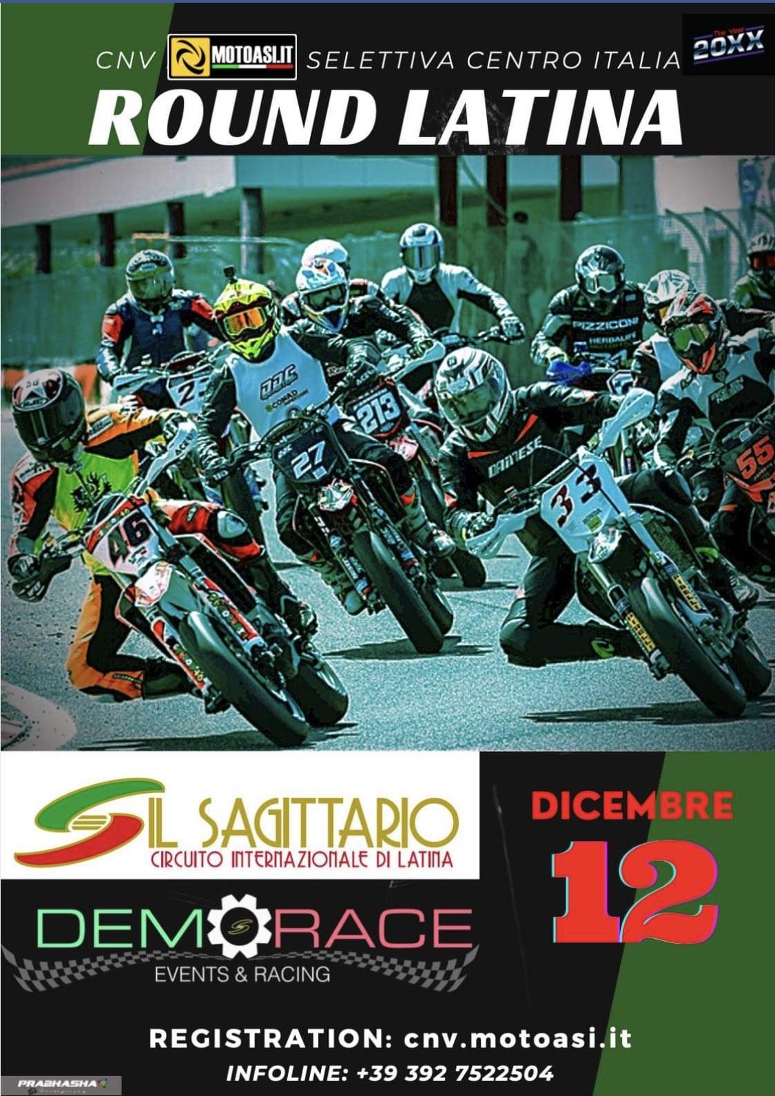 Demorace - CNV 2020 Selettiva Centro Italia 5 Round Location Circuito Internazionale Il Sagittario Data Sabato 12 Dicembrepng