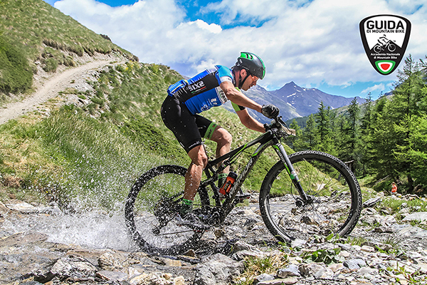 MTB Guide Lake Como water splash