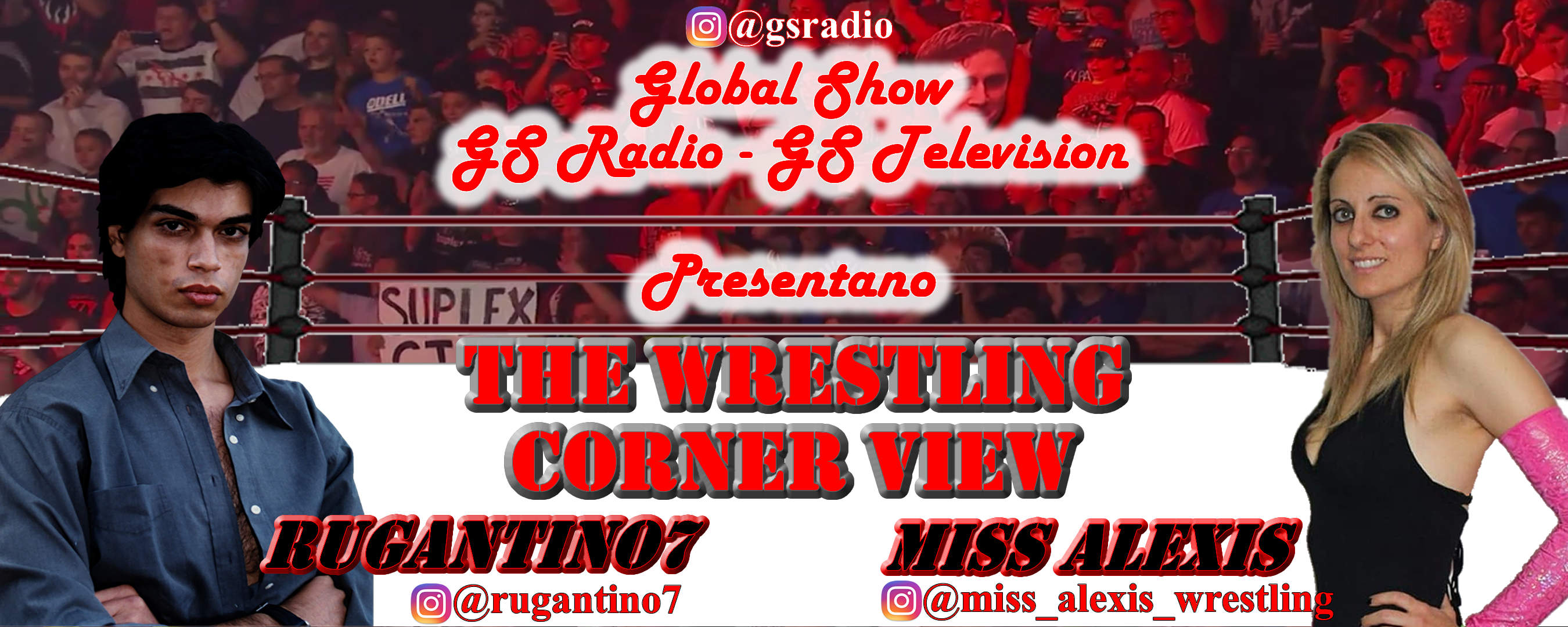 The Wrestling Corner - Daniele Antonio Battaglia & Miss Alexis