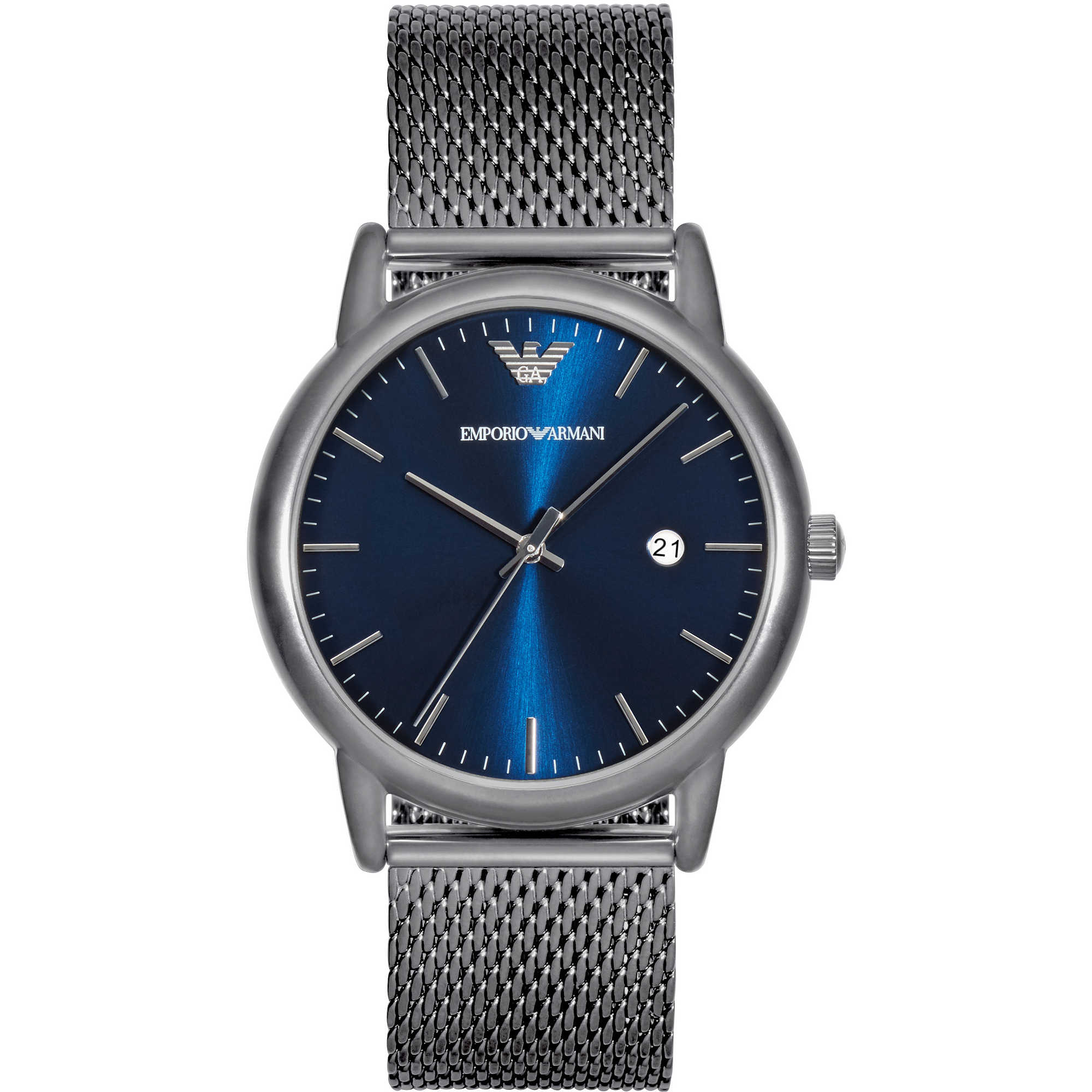 Men's Emporio Armani Grey Dress Watch AR11053