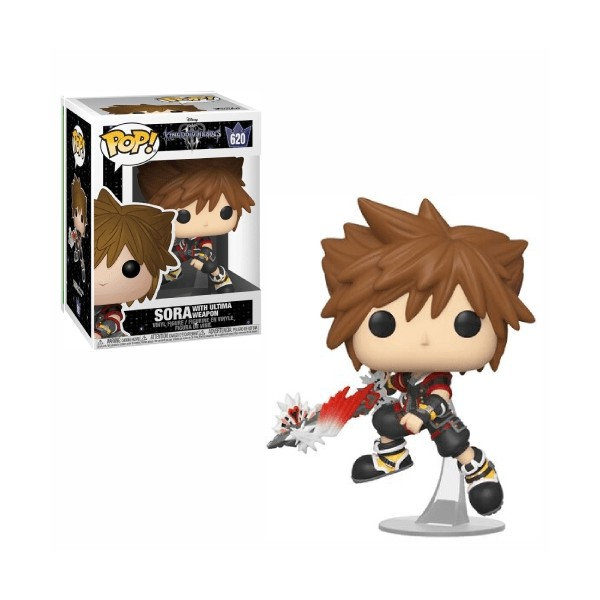 FUNKO POP SORA with ultima weapon #620 KINGDOM HEARTS