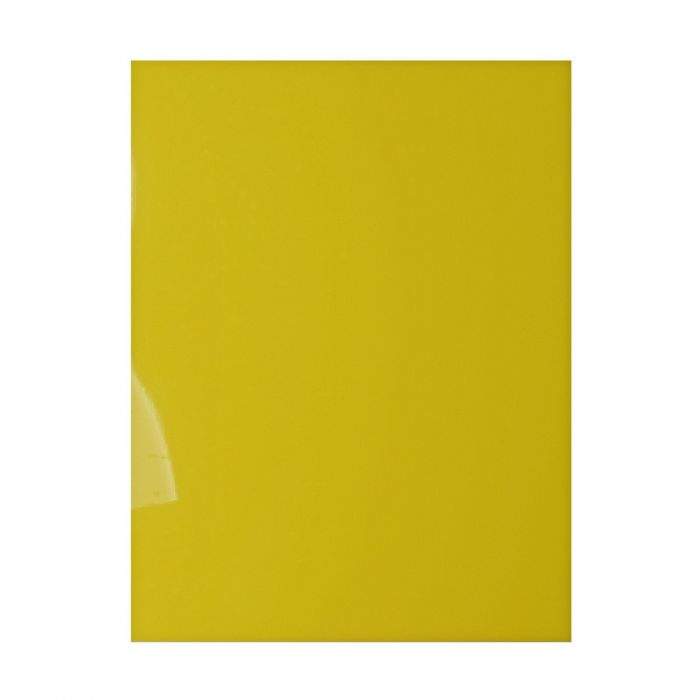 shrink plastic giallo A4