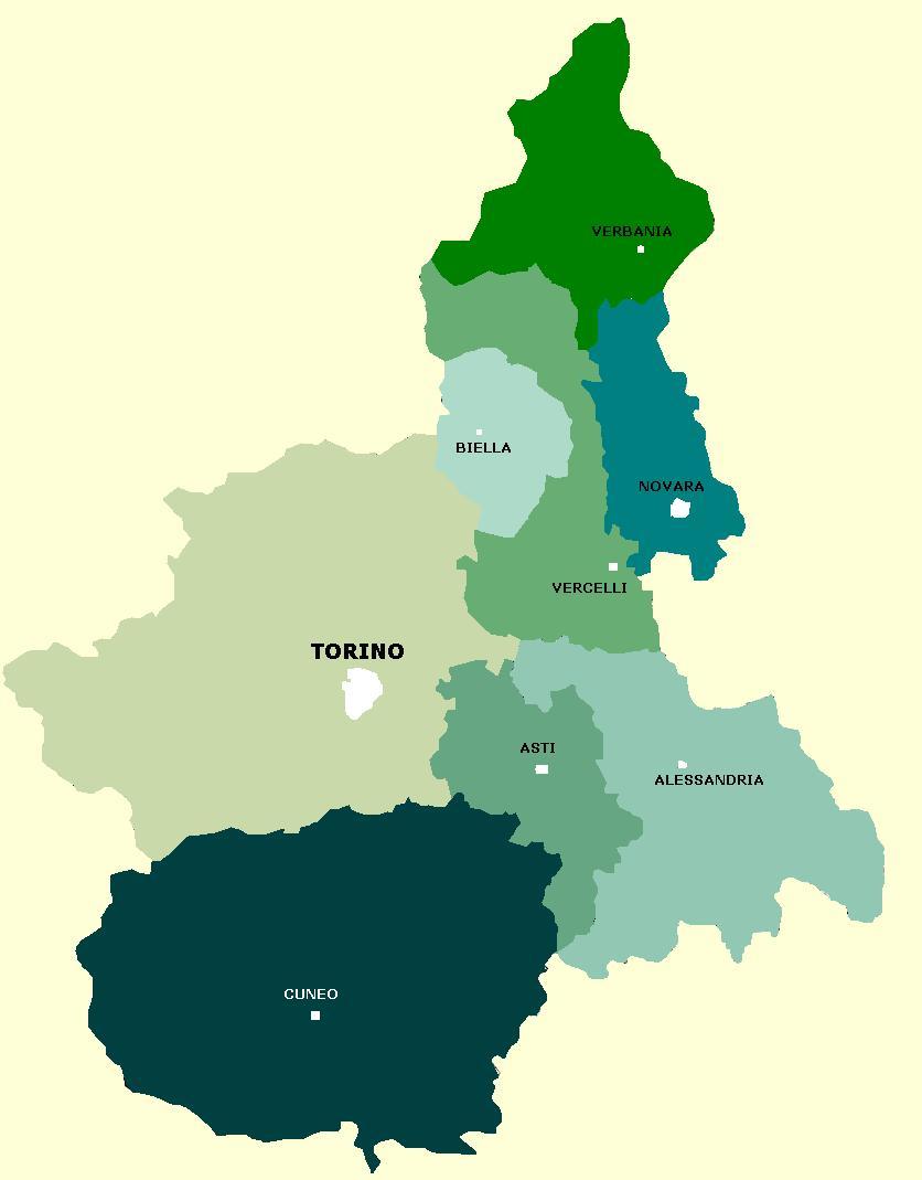 Regione Lombardia Cartina Politica.Carta Fiche Politiche Italia