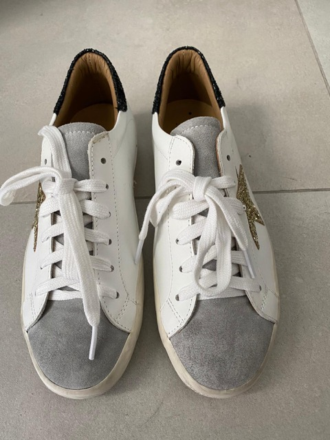 SNEAKERS CROWN BIANCA GOLD 2021