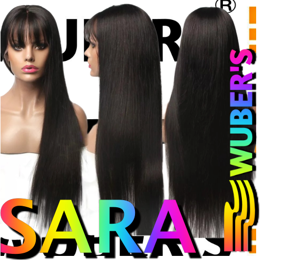 SARA - PARRUCCA CAPELLI VERI 100% REMY HAIR - LUNGHI LACE FRONT