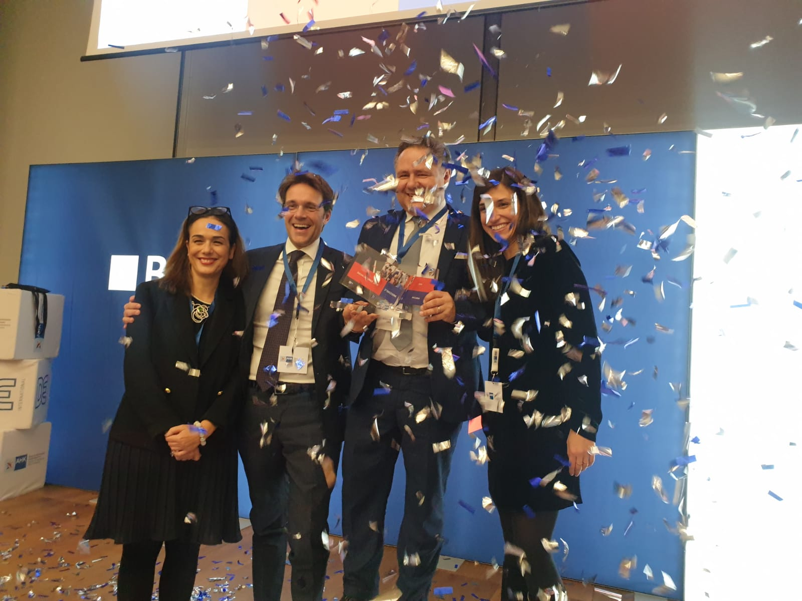 "Business meets innovation 2019: NYM wins with Arianna, the ""Black box"" for R&D projects"