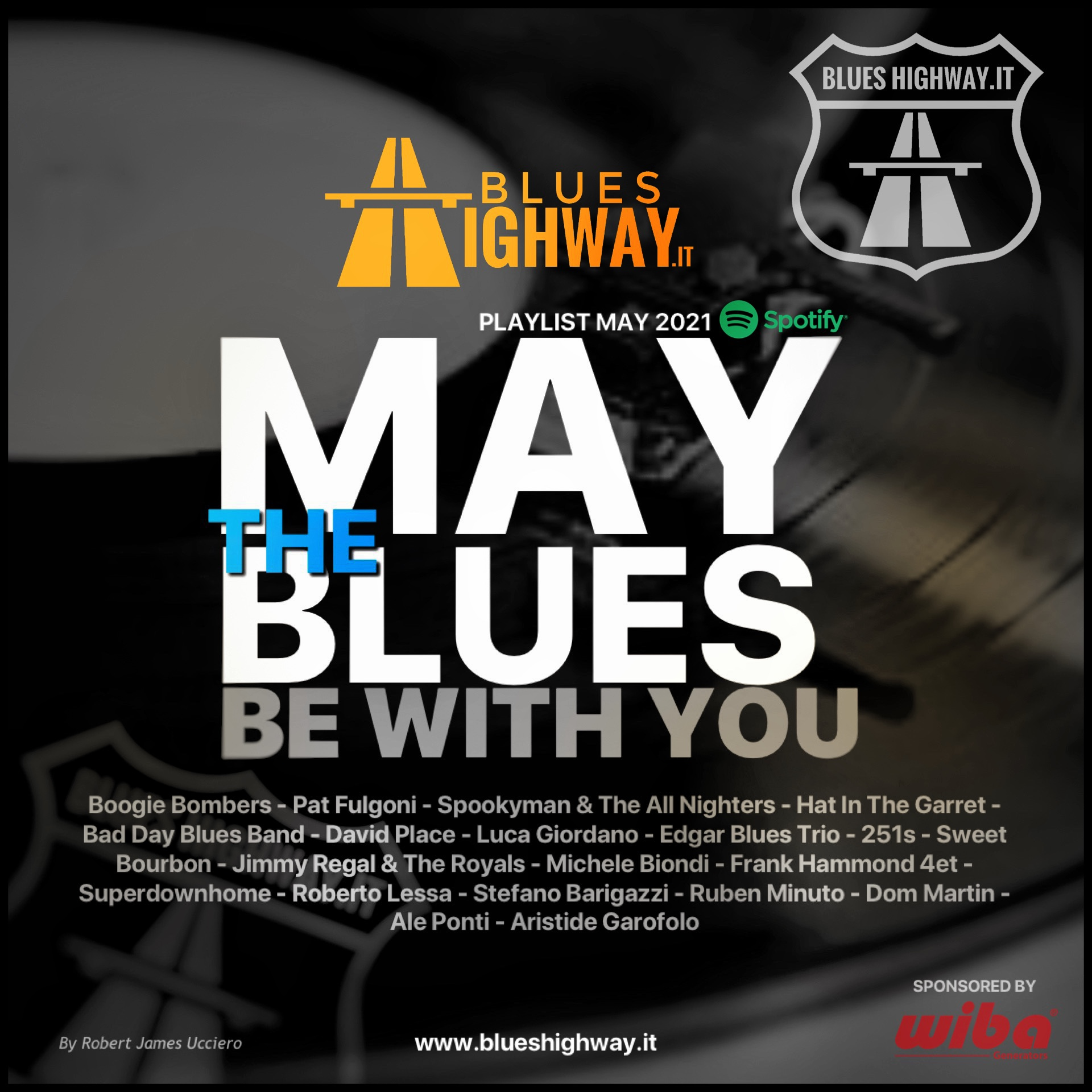 MAY THE BLUES BE WITH YOU - NEW PLAYLIST