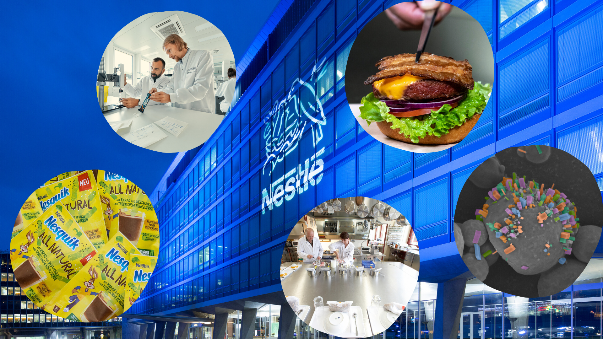 NESTLÉ: THE FUTURE OF FOOD IS NOW, THE FOOD OF THE FUTURE IS SERVED