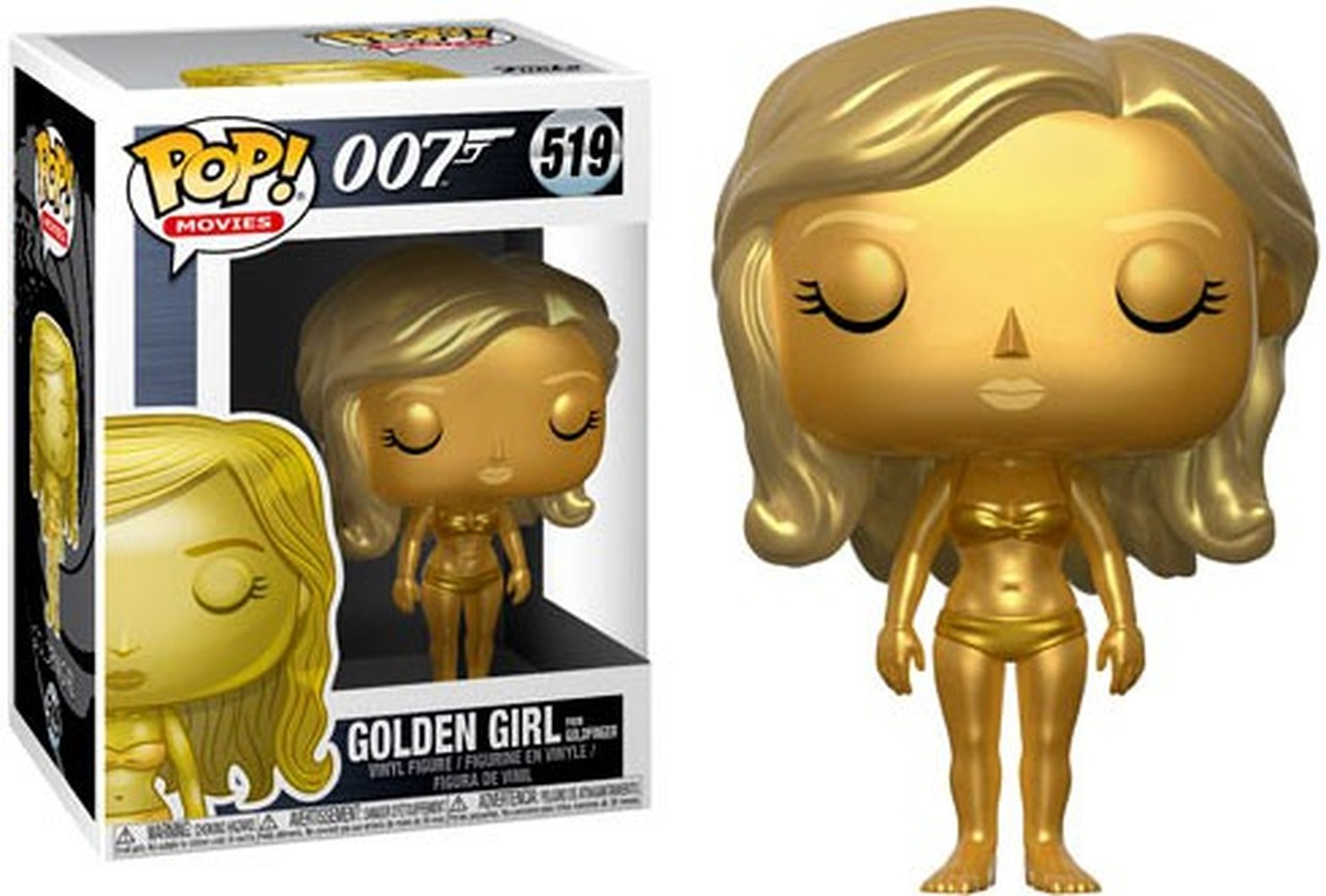 FUNKO POP GOLDEN GIRL #519 JAMES BOND 007 MOVIES