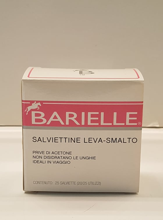 Salviette leva smalto 25 pz