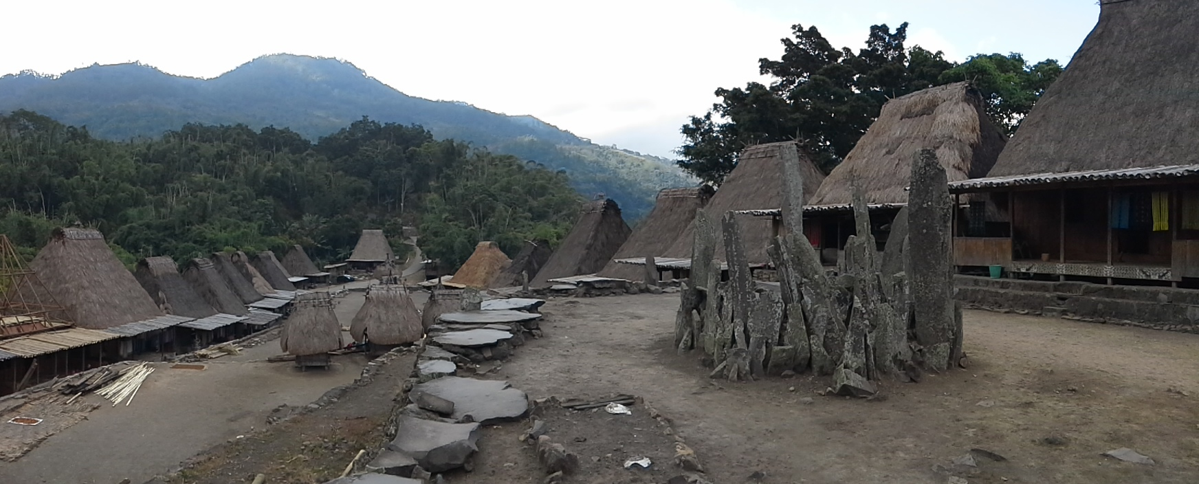 Bena Traditional Village, Bajawa - Flores