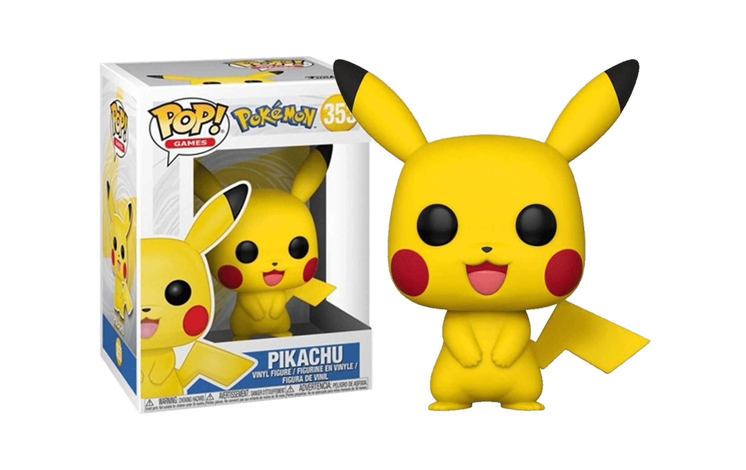 FUNKO POP PIKACHU #353 POKEMON GAMES