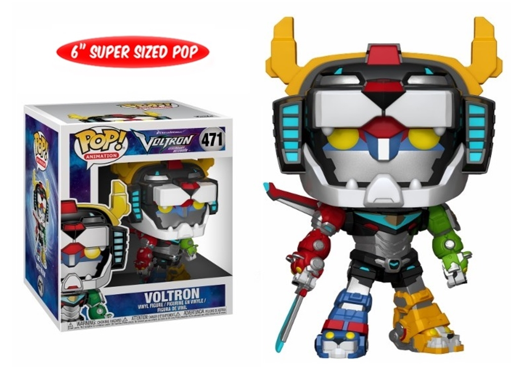 "FUNKO POP VOLTRON #471 6"" ANIMATION"