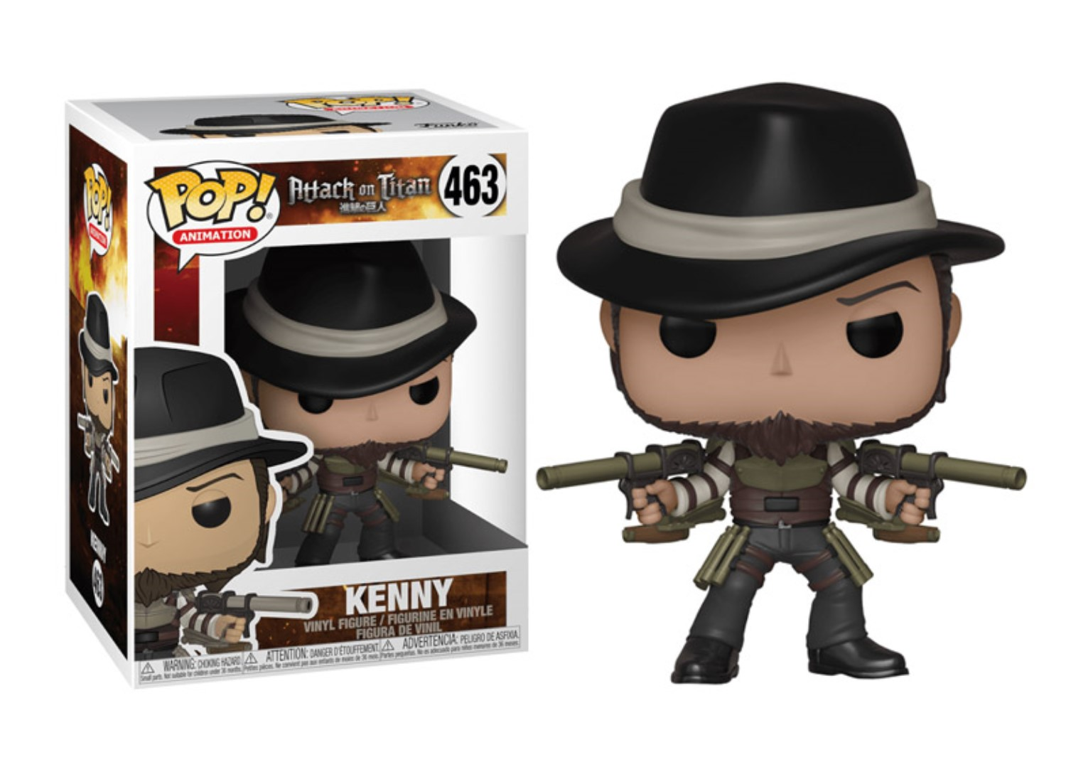 FUNKO POP KENNY #463 ATTACK ON TITAN ANIMATION