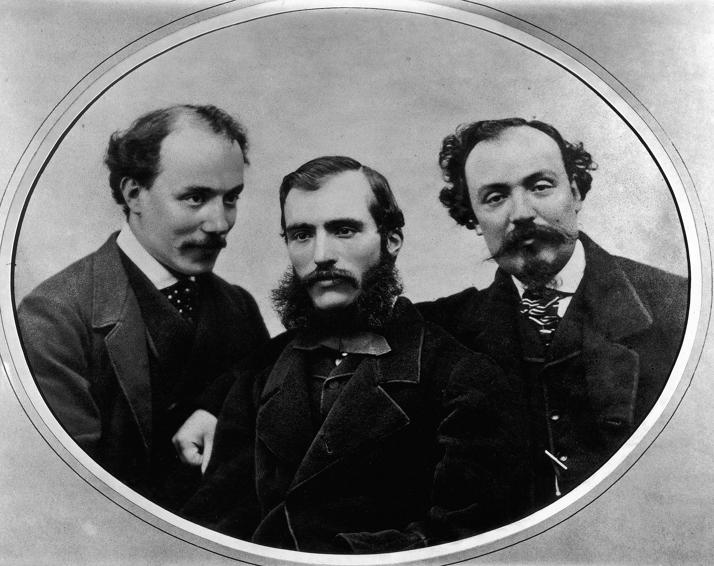 1 Fratelli Alinari_I tre fratelli Alinari Giuseppe Leopoldo e Romualdo_1860_Archivi Alinari_ FirenzeJPG