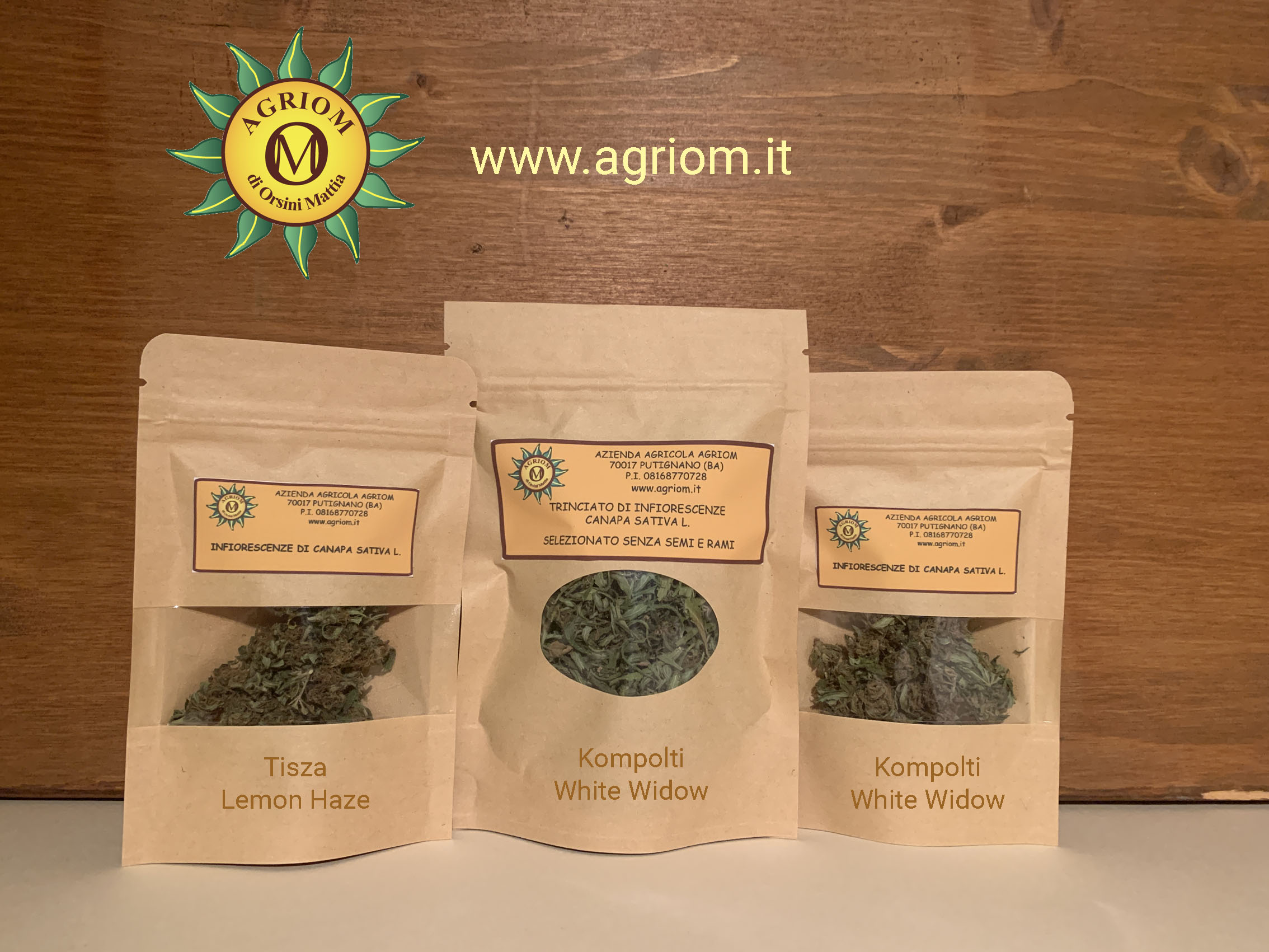 Promo Canapa Sativa Light       €45,00