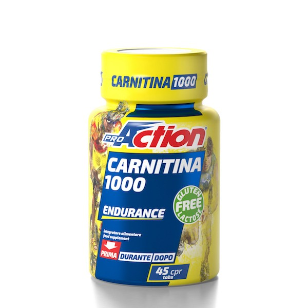 CARNITINA 1000 TABLETS 45CPR.
