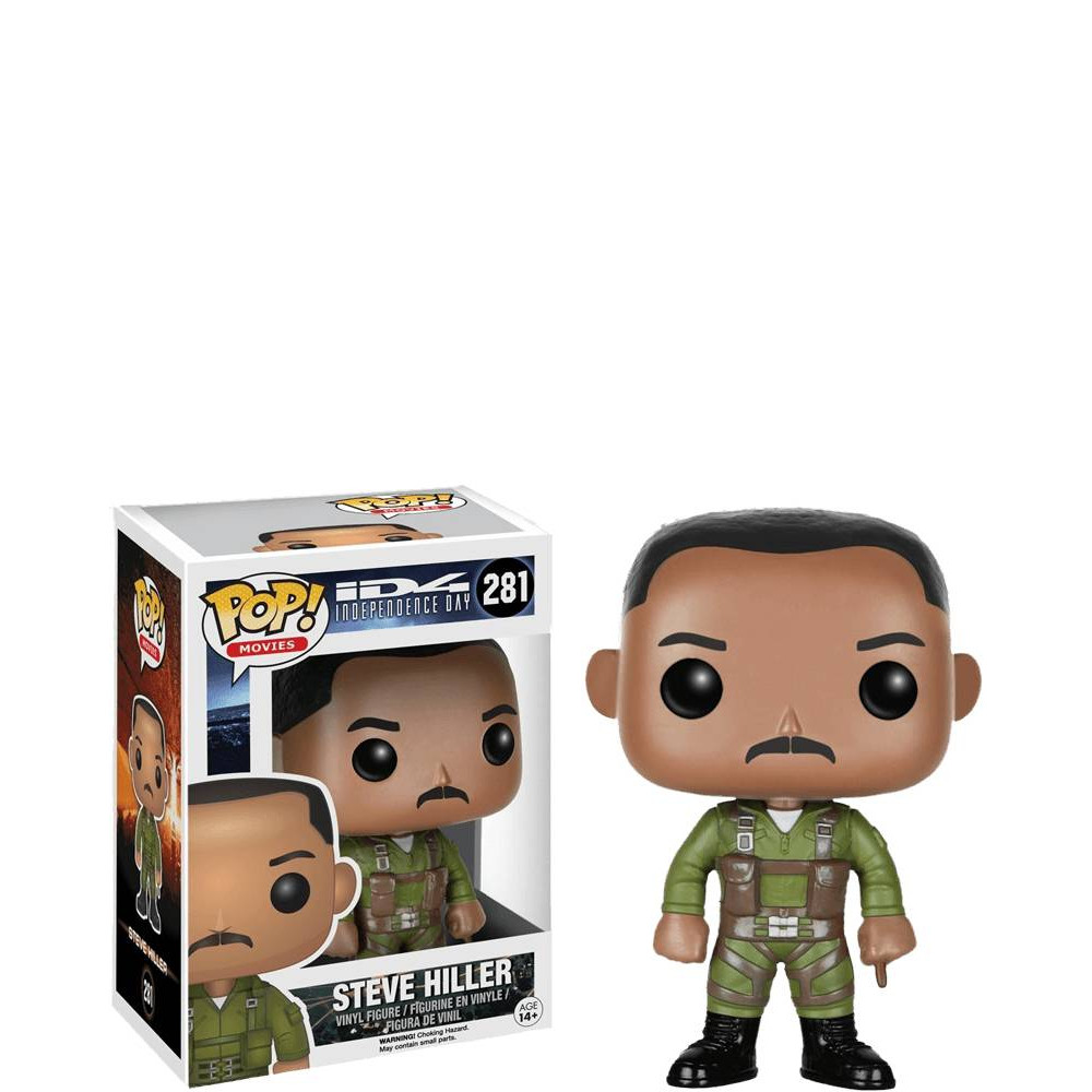 FUNKO POP STEVE HILLER #281 INDIPENDENCE DAY MOVIES WILL SMITH