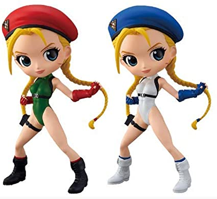 Q POSKET CAMMY - STREET FIGHTER - VER. A - BANPRESTO