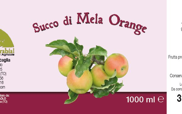 Succo di mele Orange 1l