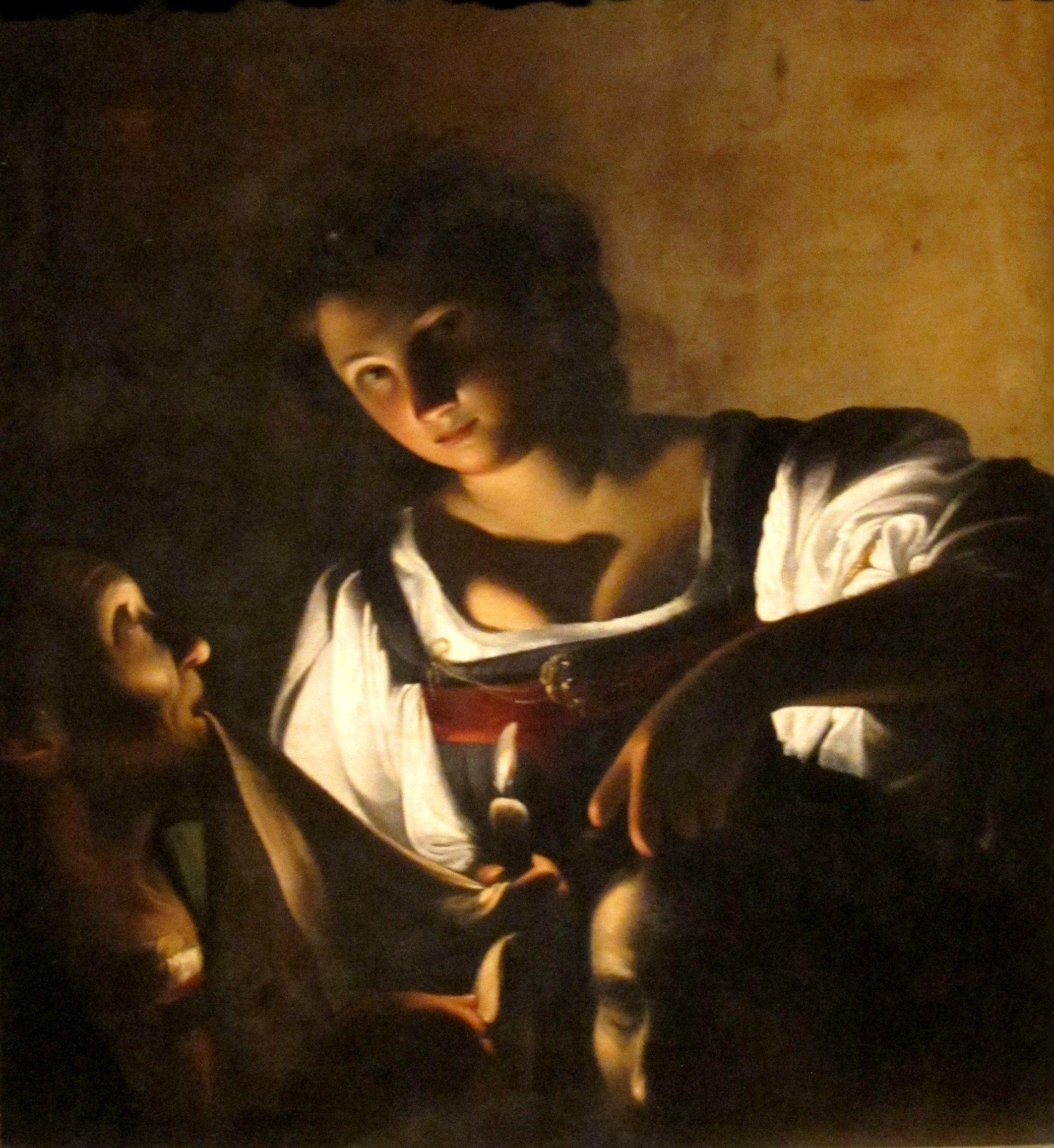 Carlo Saraceni Giuditta con la testa di Oloferne Modena Galleria estensejpg