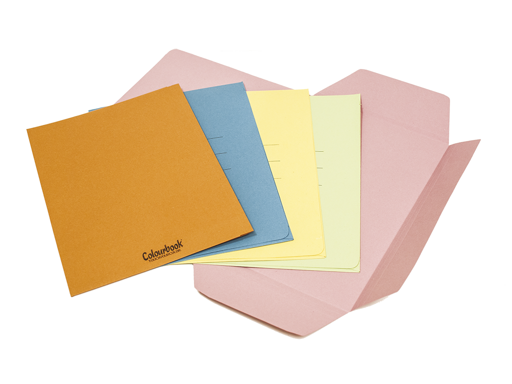 Cartelline 3 lembi Colourbook