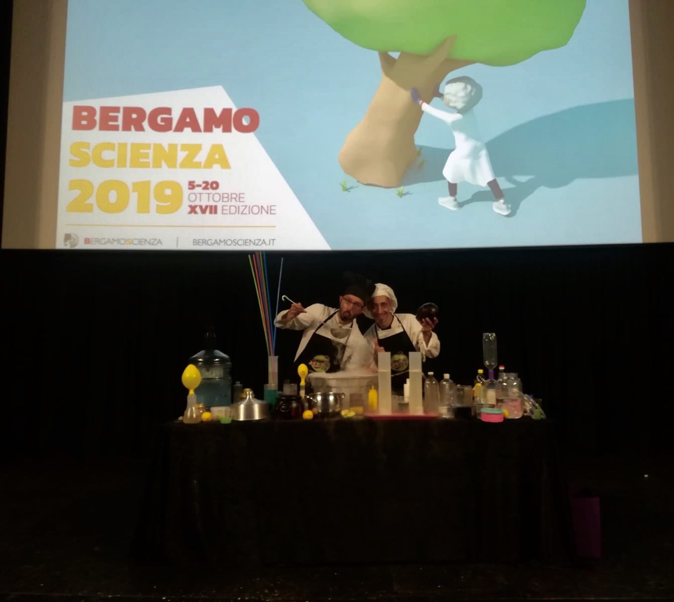 junior science Bergamo scienza