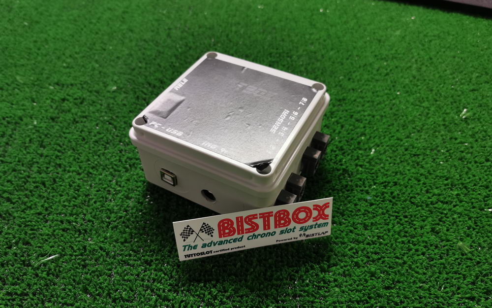 Solo Bistbox Light per piste 2-4-6 corsie - Light Bistbox solo for track 2-4-6 lanes