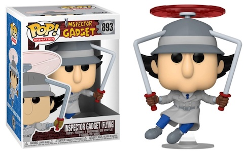 FUNKO POP INSPECTOR GADGET #893 - ANIMATION