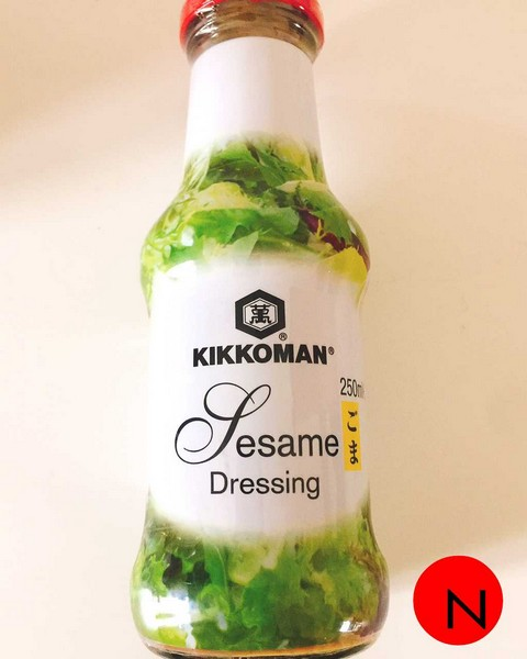KIKKOMAN SESAME DRESSING 250ML