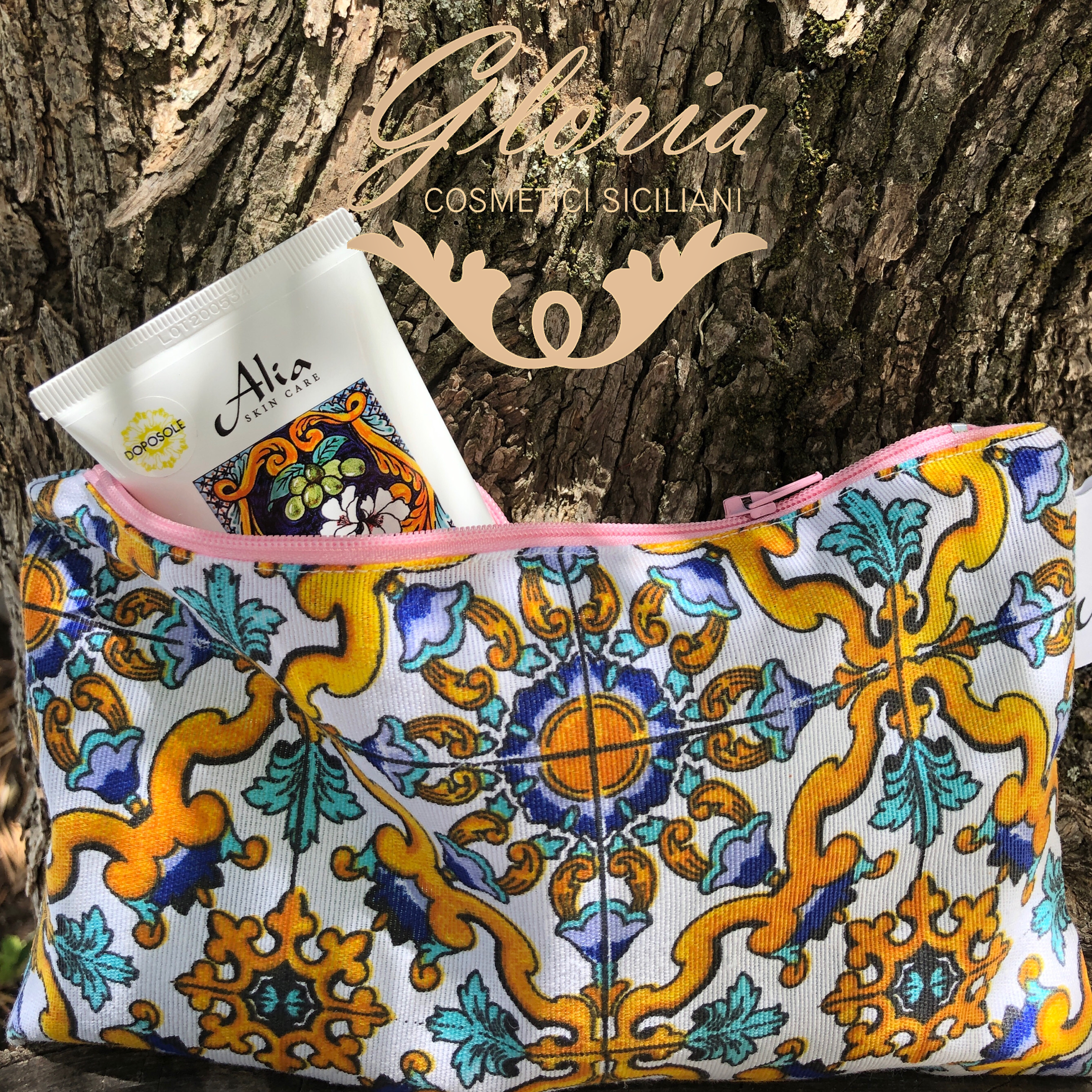 ALIA SKIN CARE Pochette Omaggio Made in Sicily