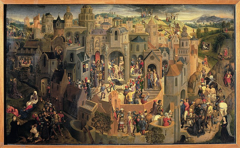 Hans Memling Passione 1470jpg