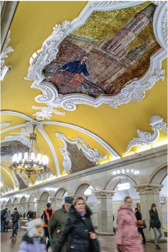 Lenin in Metrojpeg