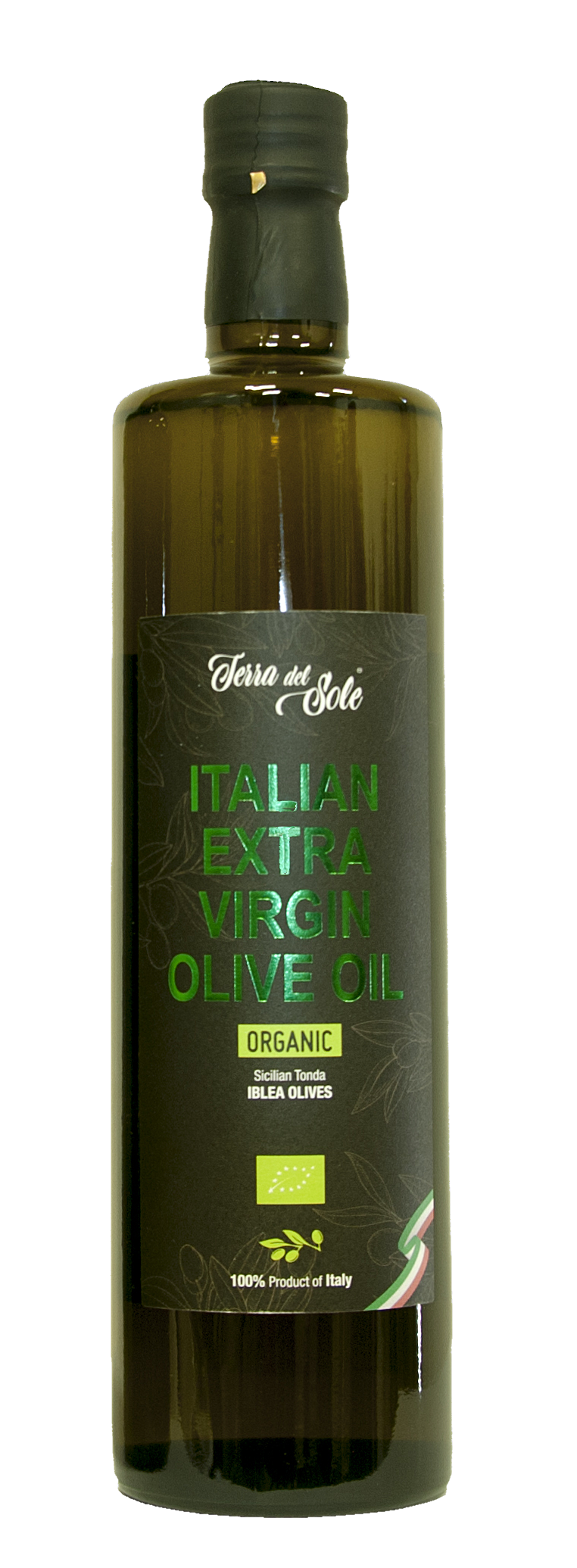 Oil: Extra Virgin Olive Oil ORGANIC - Terra del Sole - 750 ml ( 25.36 fl oz) Imported from Italy
