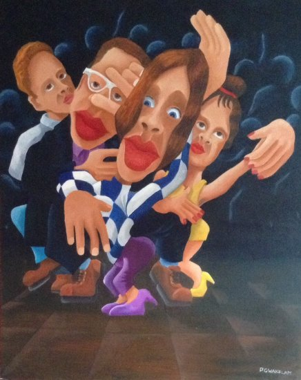 """ Individuality"" - oil on canvas -  cms  80 x 100 - Quotation  € 2500"