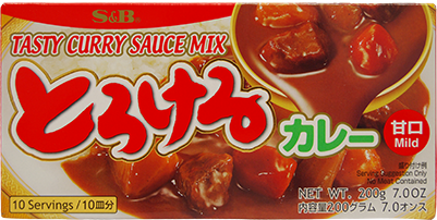 S&B Torokeru Curry Mild