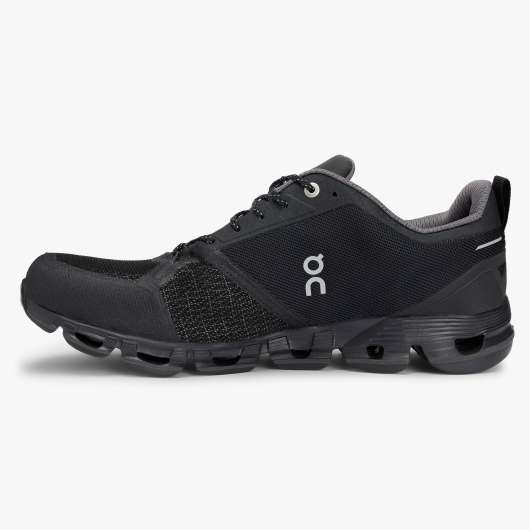 ON Cloudflyer Waterproof Black/Lunar