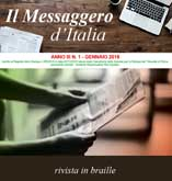 rivista Braille e nero ingrandito