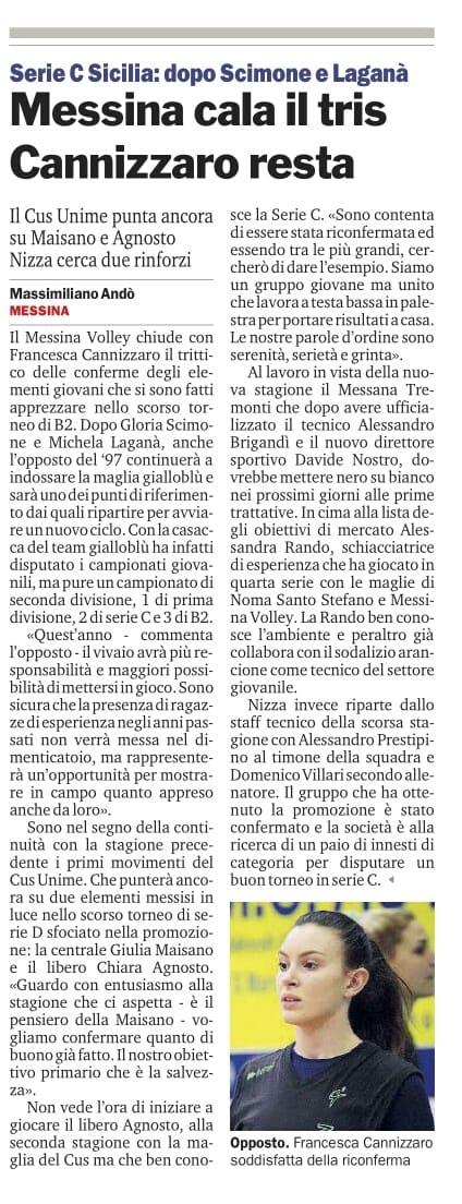 Gazzetta 10 settembre 2018jpg