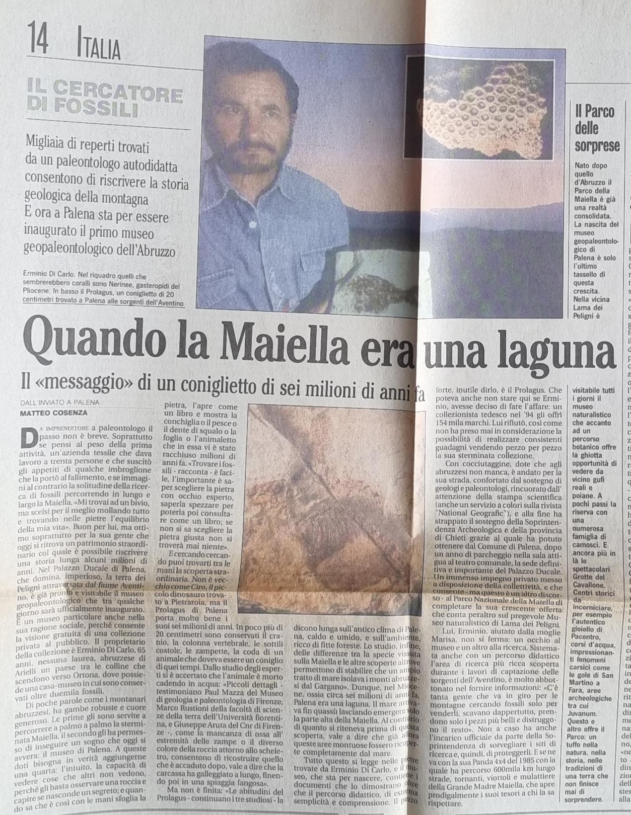 Ermio Di Carlo mio vecchio articolo sul Mattinojpg