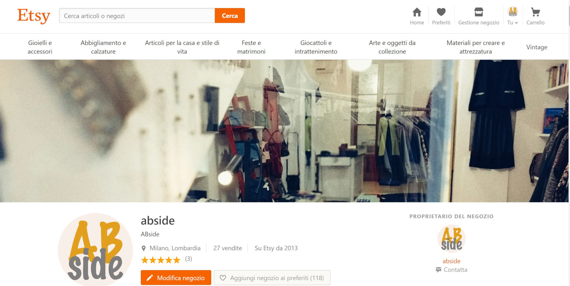 abside shop on etsy