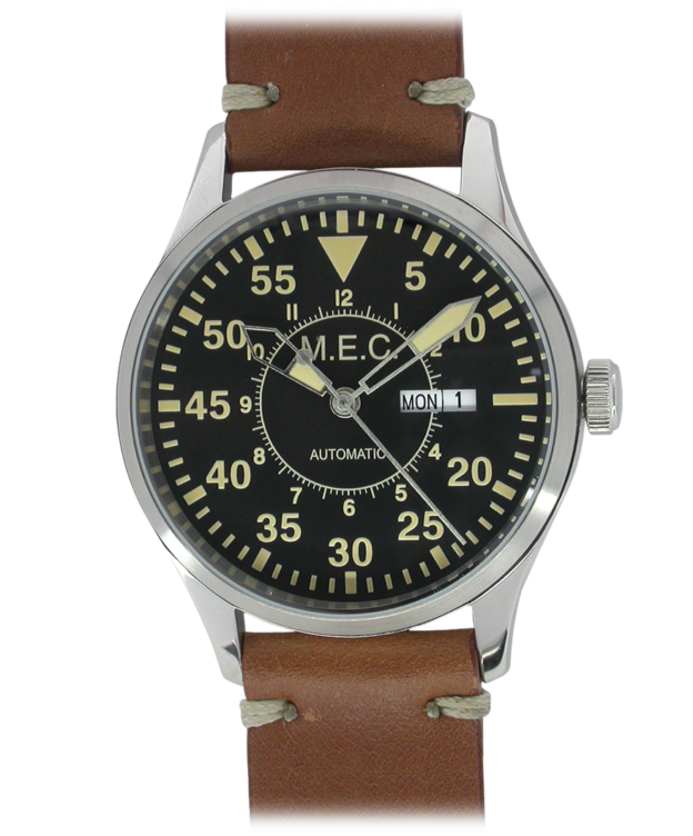 M.E.C. FLY PILOT AUTOMATICO DAY DATE Mod FP/BR