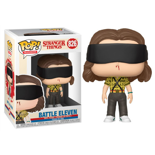 FUNKO POP BATTLE ELEVEN #826 STRANGER THINGS MILLIE BOBBY BROWN