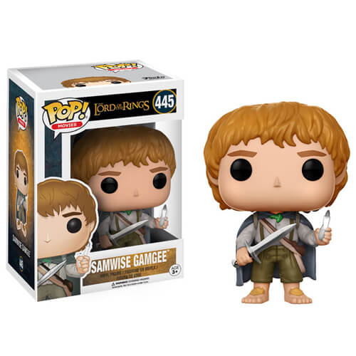 FUNKO POP SAMWISE GAMGEE #445 LORD OF THE RINGS SEAN ASTIN