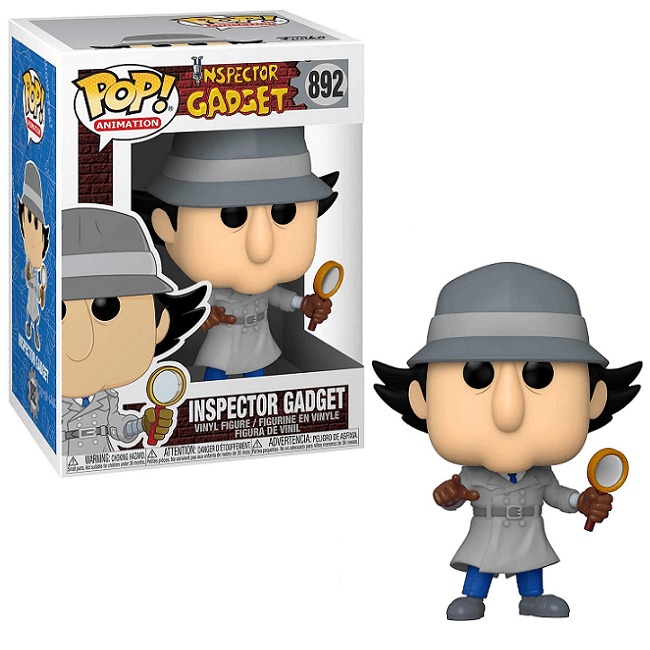 FUNKO POP INSPECTOR GADGET #892 - ANIMATION