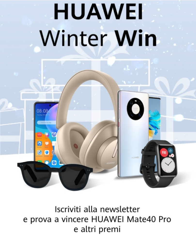 Huawei - Winter win