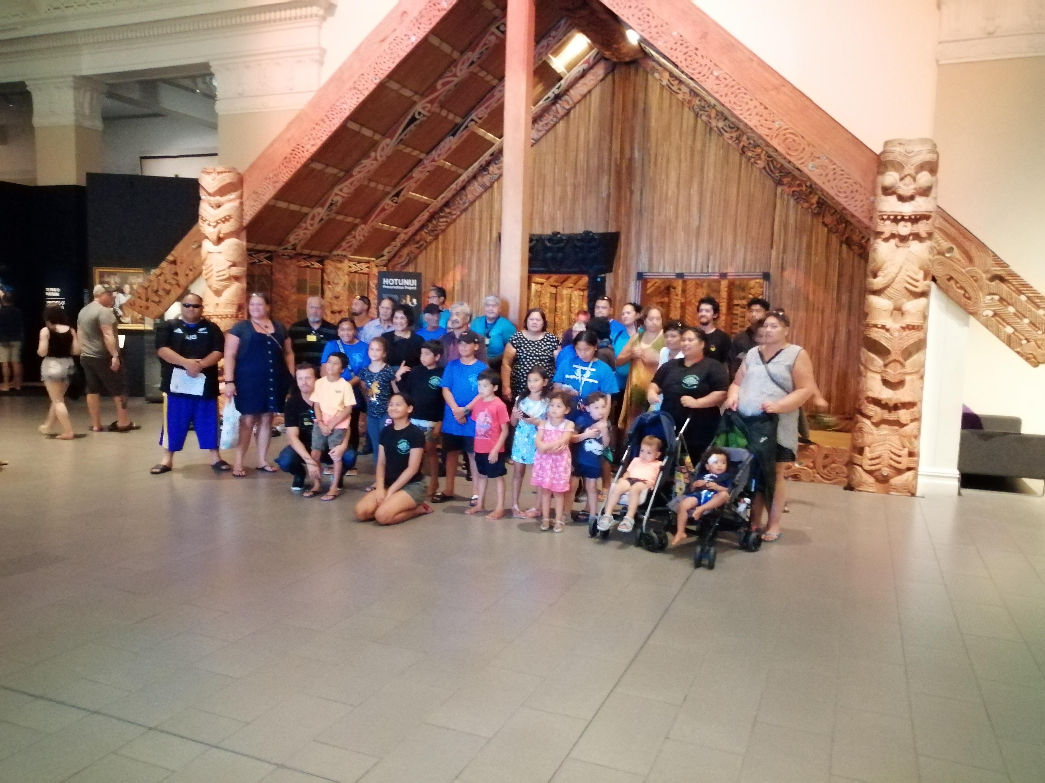 foto famiglia Maori museo guerrajpg